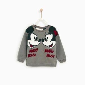 ZARA Baby girl sweatshirt